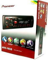 Auto Radio Receiver Pioneer Mvh-98ub Usb Auxiliar -