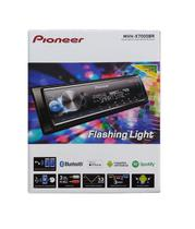 Auto Radio receiver Pioneer Mvh-x7000br Bluetooth Mixtrax Karaoke Usb flashing light 6 saídas rca -