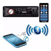 Auto Radio Roadstar Bluetooth Rs-2709 Fm Usb Sd Controle Top