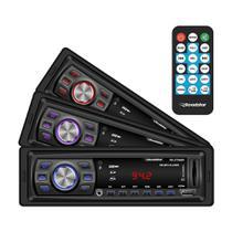 Auto Rádio Roadstar Brasil RS2708BR FM USB SD Aux 4X45 RMS -