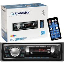 Auto Radio Roadstar RS2606BR Bluetooth Mp3 FM USB