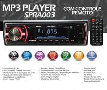 Auto Radio Seven  Fm/mp3/sd/aux/controle -