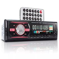 Auto Rádio Som Automotivo MP3 Bluetooth USB P2 AUX SD BF-9661 - Briwax