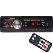 Auto Rádio Som Mp3 Player Automotivo Carro Bluetooth Fm Sd Usb Controle First Option 8860B
