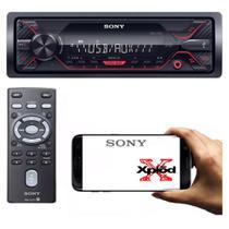 Auto Radio Sony Xplod Dsx-a110 Entrada Usb Mp3 Mega Bass Rca -
