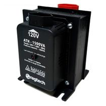 Auto Transformador Ragtech ATH 1500 Black 1500VA Entrada 120V/220V Saída 120V/220V - 20ATH4474 -