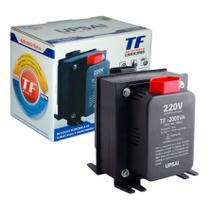 Auto Transformador TF 2000VA Bivolt 110V/220V ou 220V/110V C/ Sensor Térmico - UPSAI -