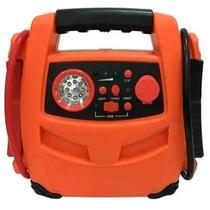 Auxiliar de Partida 12V 600A Kit Emergencial c/ Lanterna, USB e Compressor 250 PSI AU621 MULTILASER -