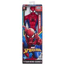 Avengers figura 12 titan hero blast gear homem aranha e7333 - Hasbro -