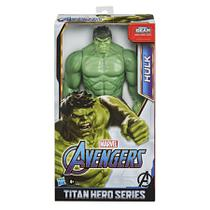 Avengers Figura 14 Titan Hero Blast Gear Hulk Deluxe - E7475 - Hasbro -