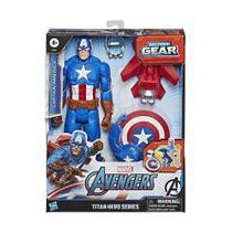 Avengers Titan Hero Blast Gear Capitao America - Hasbro