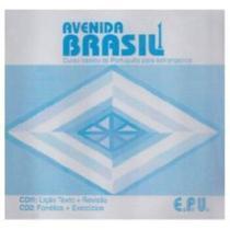 Avenida Brasil 1 - Audio CD (Conjunto De 2) - Epu - Pedagógica E Universitária