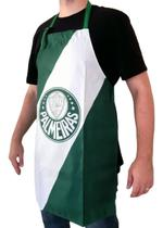 Avental Palmeiras Oficial Verde Impermeável - Jc Bandeiras