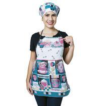 Avental Para Cozinha Cup Cake 100% Oxford - Outfiter
