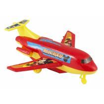Avião à Fricção Atitoys do Mickey - Etilux