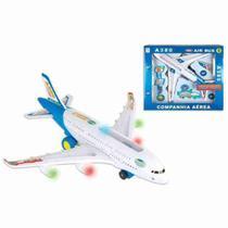 Avião Air Bus Grande Jumbo Fenix Infantil - Alphacomprass