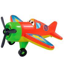 Avião Airplane Adventure Dismat 23 Cm Hélices Giram - 125080 -