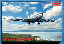 Avião Boeing 720B Pan American - Jet Cliper Panama 319 - RODEN - Revell