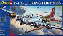 Avião Boeing B-17G Flying Fortress 04283 - REVELL ALEMA -