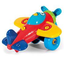 Avião de Brinquedo Didático Poliplac -
