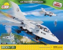 Avião de Caça Air Fighter Tornado - Blocos de Montar 200 Peças - Small Army - Cobi -