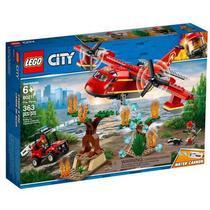 Aviao de combate ao fogo - Lego