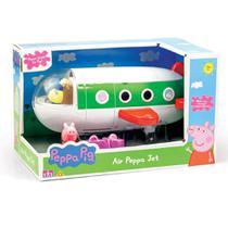 Avião Peppa Pig e Boneca Peppa Pig Brinquedo DTC -