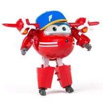 Avião Super Wings Flip Change em Up YW710200 Intek - Fun divirta-se