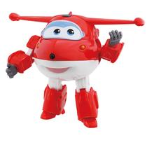 Avião Super Wings Jett Change em Up 80064 Intek - Fun divirta-se