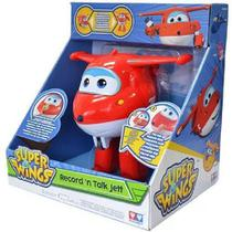 Aviao Super WINGS JETT Grava e Fala INTEK YW71410 8241-6 -