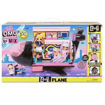 Avião Veículo Lol Surprise Omg Remix Com 50 Acessórios Surpresa Candide -
