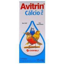 Avitrin Cálcio 15 ML - Coveli