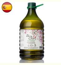 Azeite de Oliva Espanhol Extra Virgem Alva Oliva Intenso 3 Litros -