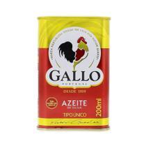 Azeite de Oliva Gallo Tipo Único 200ml -
