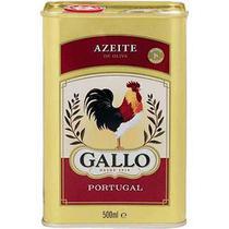 Azeite de Oliva Puro Lata 500ml - Gallo -