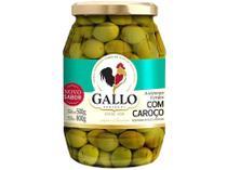 Azeitona Verde com Caroço Gallo - 500g