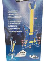 Azul Rock Star Guitarra Infantil - Zoop Toys ZP00219 - Zoops toys