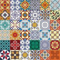 Azulejos Adesivo Decorativos Kit 36 Unidades - Azulejinhos