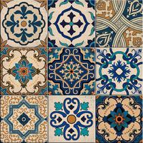 Azulejos Decorativos Estoril Kit 9 Peças 15x15cm. - Sofistiq