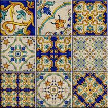 Azulejos Decorativos Itália Kit 9 Peças 15x15cm. - Sofistiq