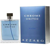 Azzaro Chrome United 200ml Perfume Edt Original Lacrado Novo