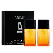 Azzaro pour homme kit - eau de toilette 30ml + eau de toilette 30ml -
