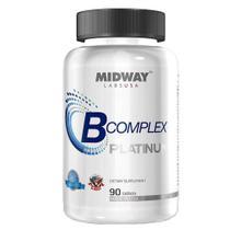 B Complex Midway - Suplemento à Base de Vitaminas - Midway -