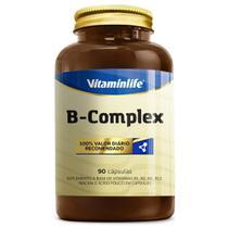 B-Complex Vitaminas do Complexo B 90 Cápsulas Vitaminlife -