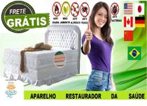 B7 Conjunto Colchão Box Duplex Casal Sem Vibroterapia 63 cm de altura magnético e infra-Vermelho - Fotomag