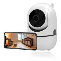Babá Eletrônica Câmera Sem Fio Wifi Visão Noturna Microfone - EVT