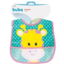 Babador com bolso Animal Fun - Girafa buba -