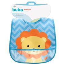 Babador com bolso Animal Fun - Leão buba -