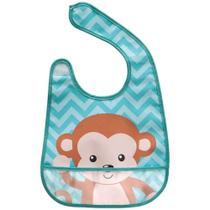 Babador com bolso animal fun macaco ref.9827 - buba -