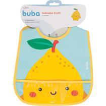 Babador com bolso Frutti - Limão buba -